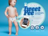 Huggies tweetpee: l' app che ti avvisa quando cambiare il pannolino
