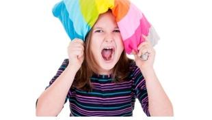 Le crisi di rabbia nei bambini.